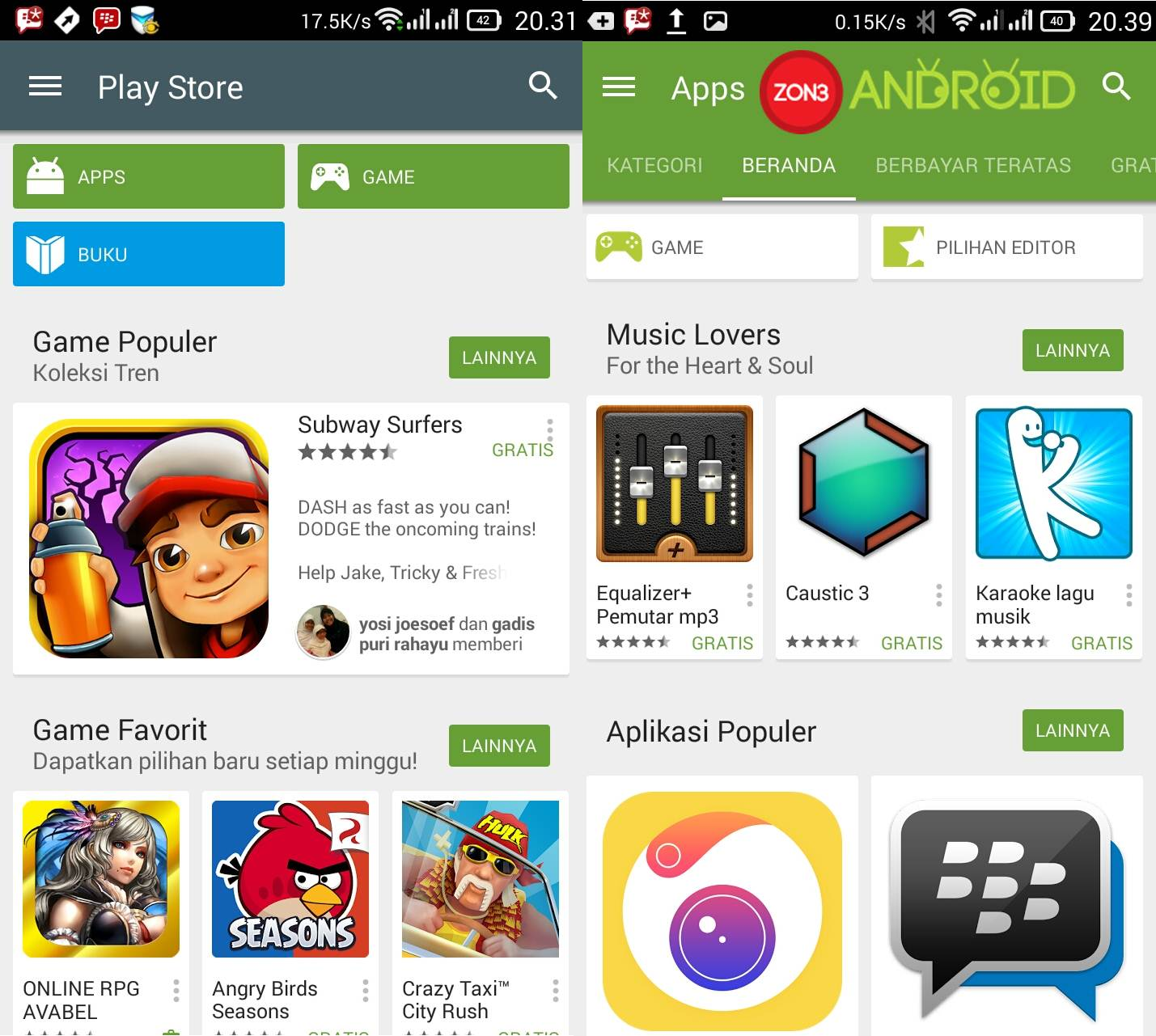 google play v5 zon3-android