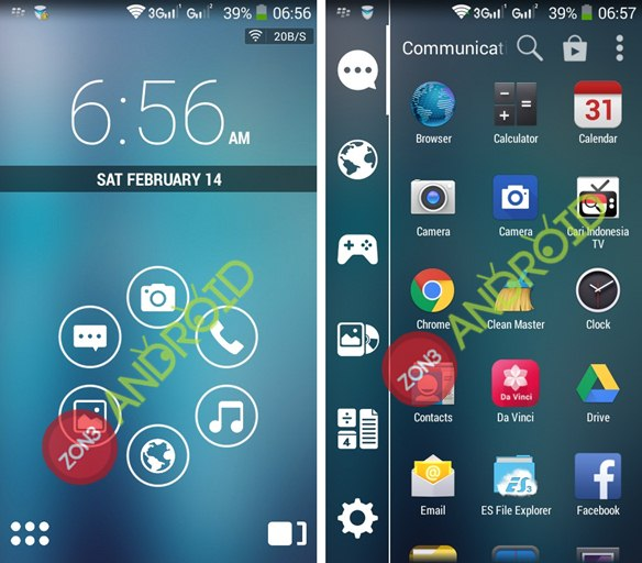 Smart Launcher zon3-android