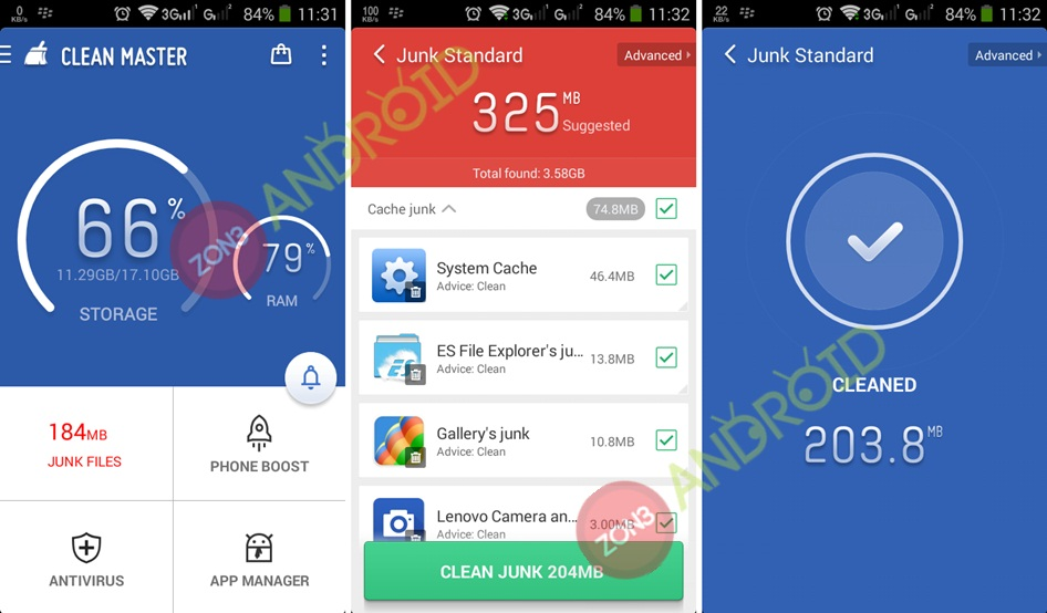 Clean Master 5.9.4 zno3-android 1