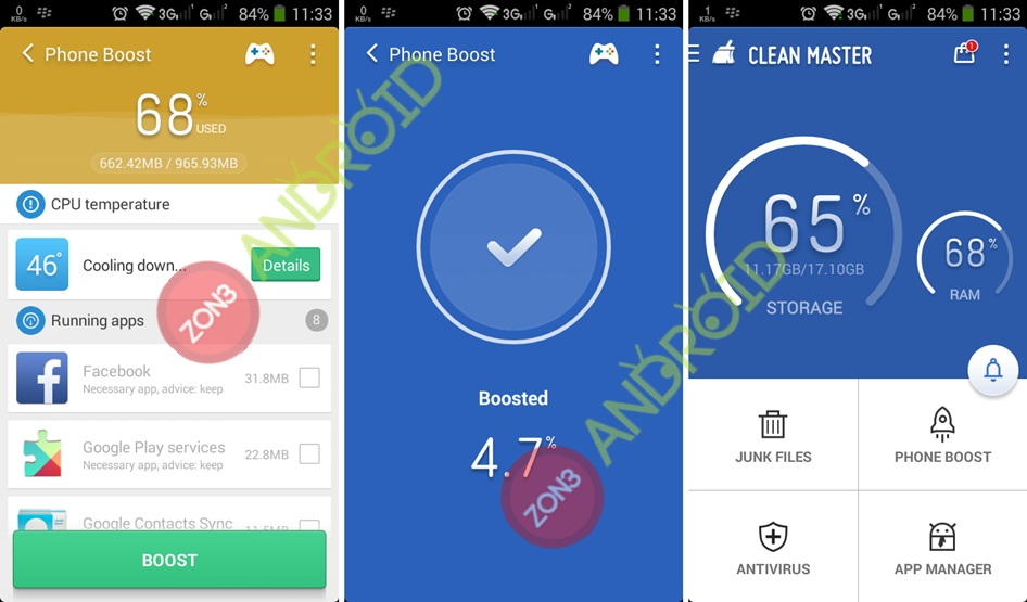 Clean Master 5.9.4 zno3-android 2