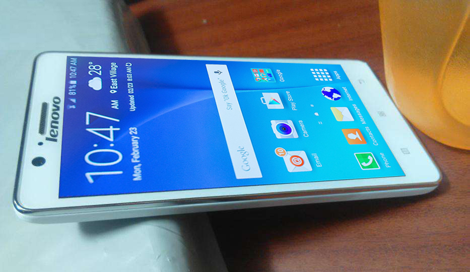 Galaxy S6 into Lenovo A536 zon3-android