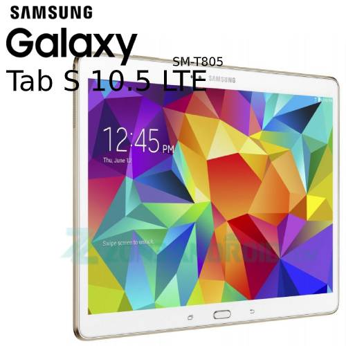 Cara Flashing Samsung Galaxy Tab S SM-T805