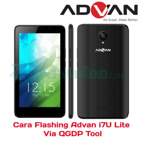 Cara Flashing Advan i7U Lite Via QGDP