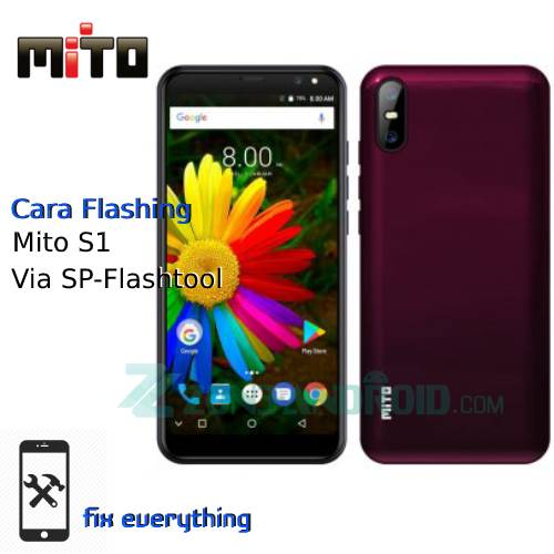Cara Flashing Mito S1 Via Sp Flashtool